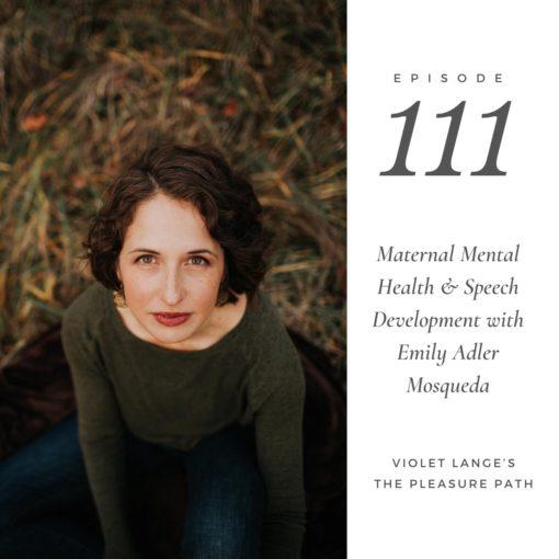 Post-Partum Depression with Speech Language Pathologist Emily Adler Mosqueda